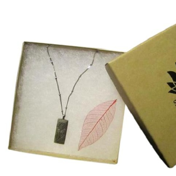 3b59b293c44a8e Satya Jewelry Jewelry | Sterling Silver Satya Lotus 925 Necklace ...